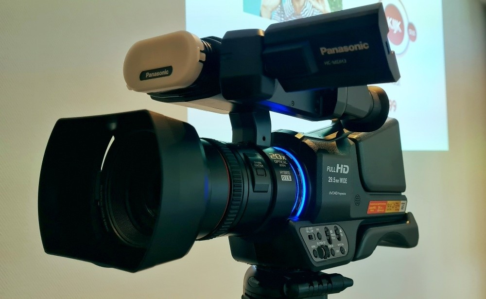 Mediatraining locatie camera